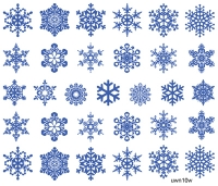 "Слайдер Премиум (серия""Ультра""), Зима, Новый Год, снежинки uwn10w - 1"
