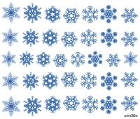 "Слайдер Премиум (серия""Ультра""), Зима, Новый Год, снежинки uwn36w - 1"