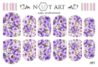 Слайдеры Nut Art Professional, Fantasy flowers nfl1 - 1