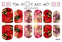 Слайдеры Nut Art Professional, Fantasy flowers nfl18 - 1