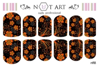Слайдеры Nut Art Professional, Fantasy flowers nfl8 - 1