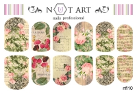 Слайдеры Nut Art Professional, Fantasy flowers nfl10 - 1