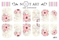 Слайдеры Nut Art Professional, Fantasy flowers nfl11 - 1