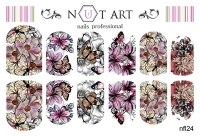 Слайдеры Nut Art Professional, Fantasy flowers nfl24 - 1