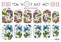 Слайдеры Nut Art Professional, Fantasy flowers nfl25 - 1