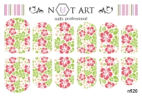 Слайдеры Nut Art Professional, Fantasy flowers nfl26 - 1