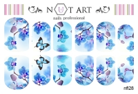 Слайдеры Nut Art Professional, Fantasy flowers nfl28 - 1