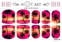 Слайдеры Nut Art Professional, Sommer Mixes nsm19 - 1