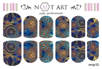 Слайдеры Nut Art Professional, Magic Ornaments nmp10 - 1