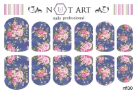 Слайдеры Nut Art Professional, Fantasy flowers nfl30 - 1