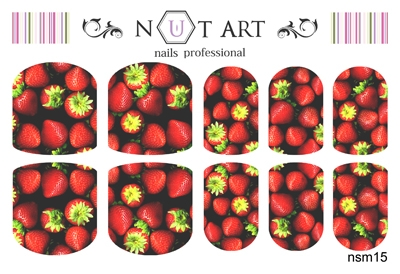 Слайдеры Nut Art Professional, Sommer Mixes nsm15 - 1