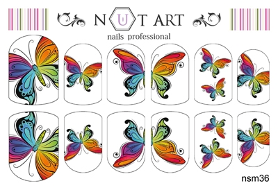 Слайдеры Nut Art Professional, Summer Mixes nsm36 - 1
